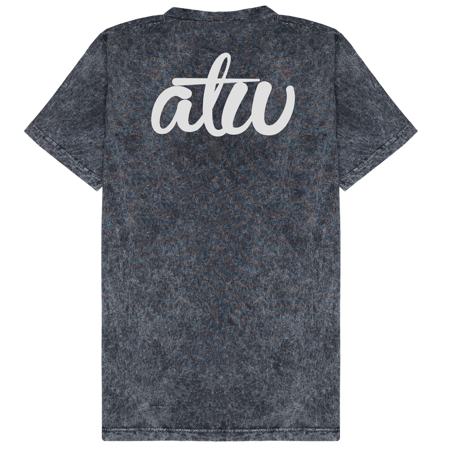 Acid Wash Black ATW T-shirt
