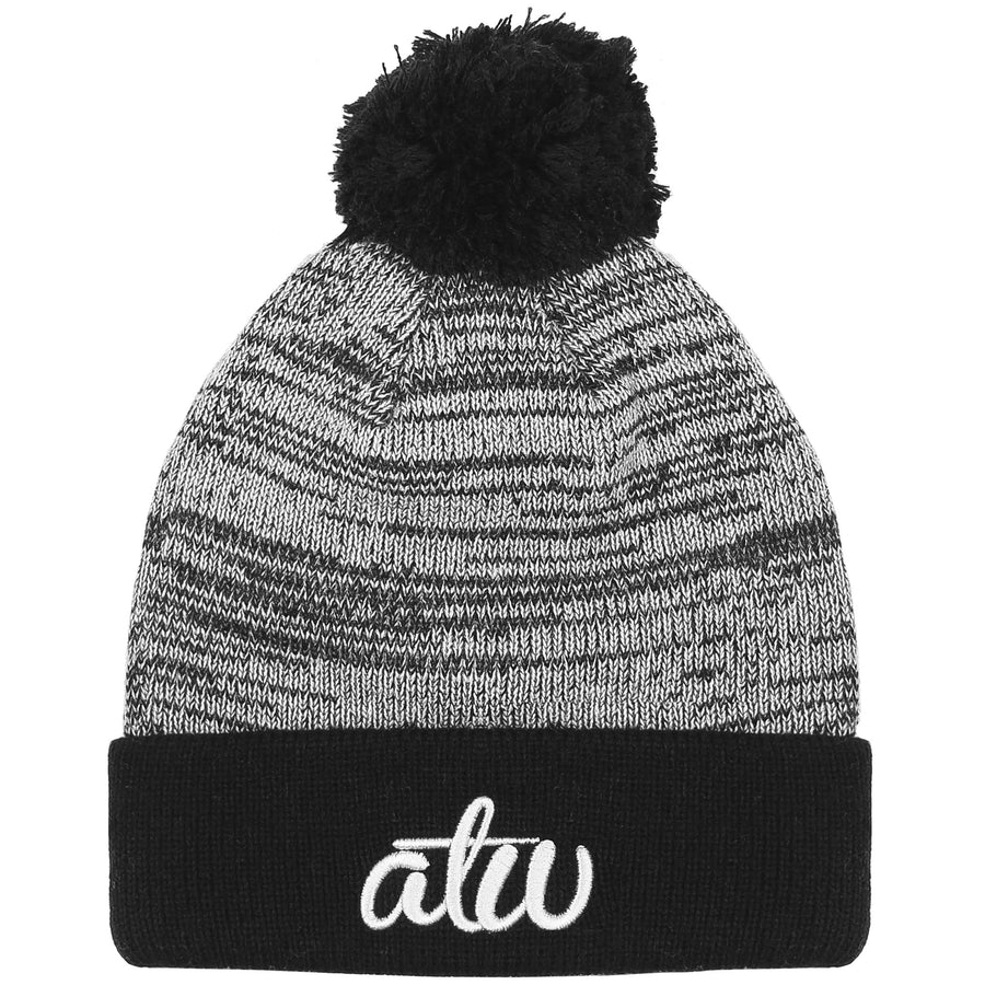Dawn Knit Bobble Beanie Black