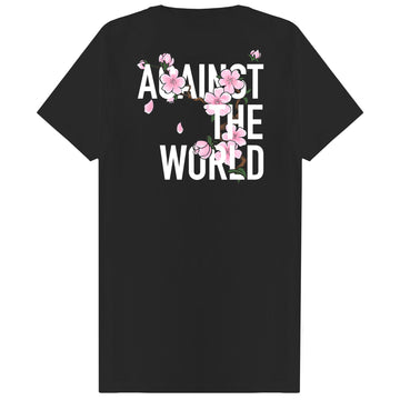 Blossom Against The World T-shirt Black