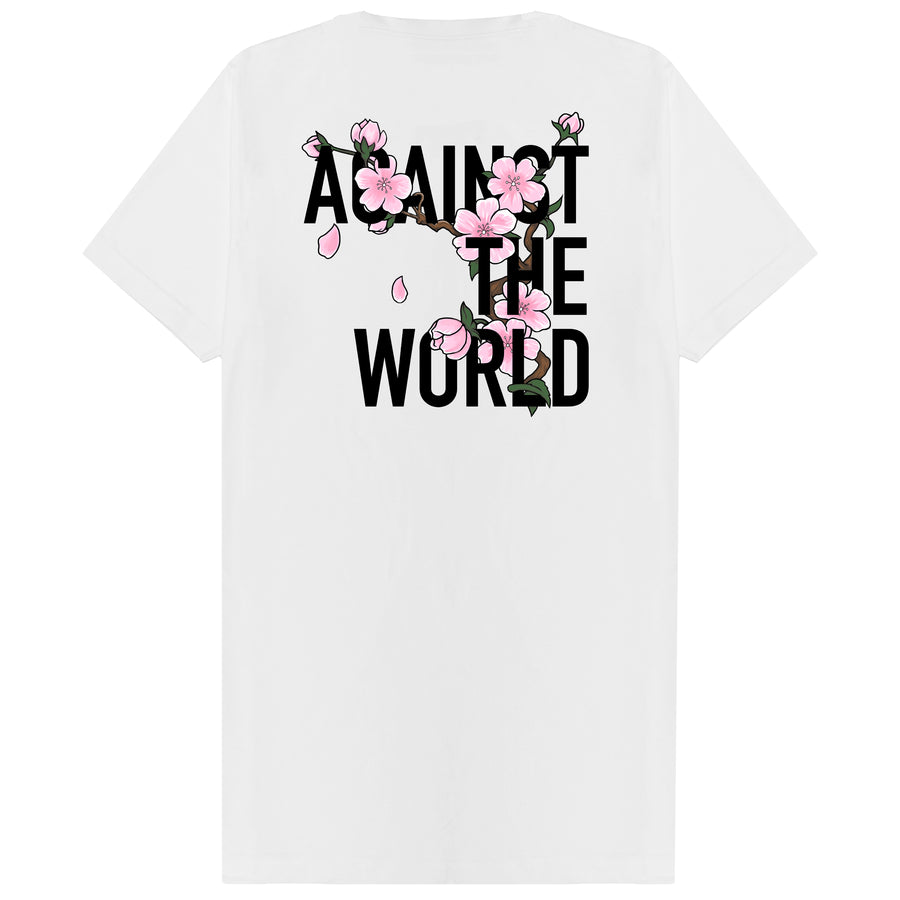 Blossom Against The World T-shirt White
