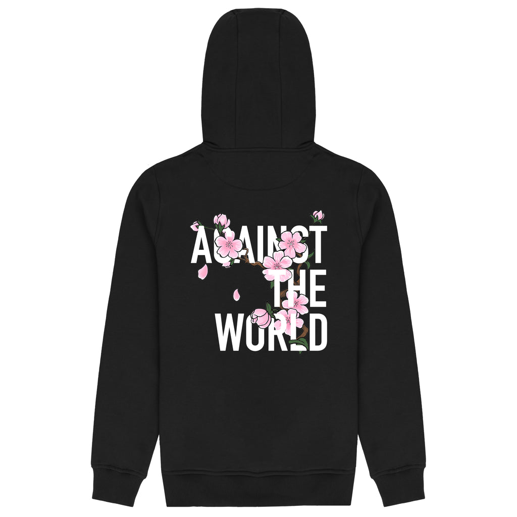 Blossom Against The World Hoodie Black
