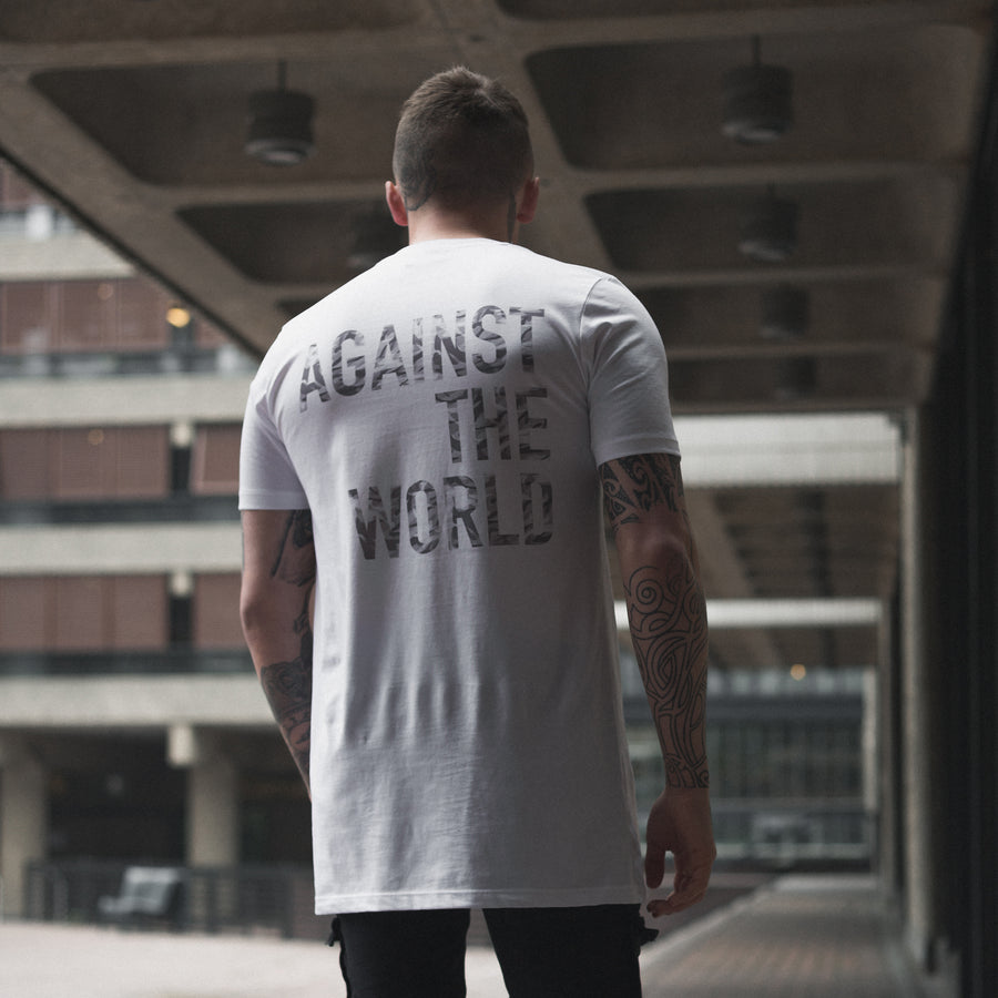 Grey Scale Camo T-shirt White
