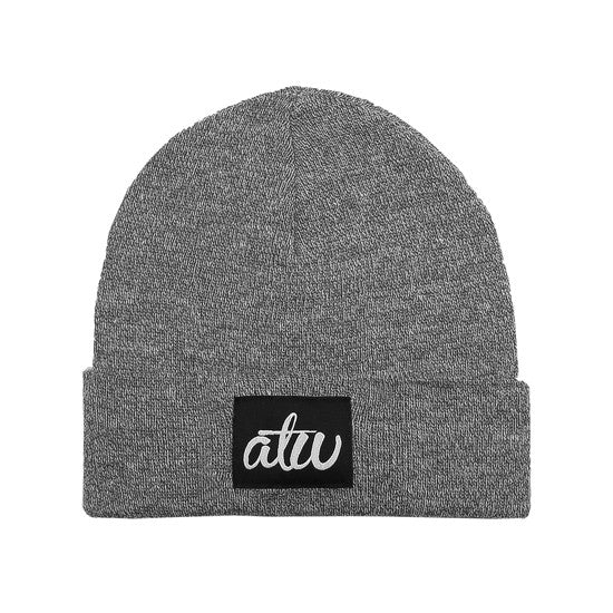atw Label Beanie Grey