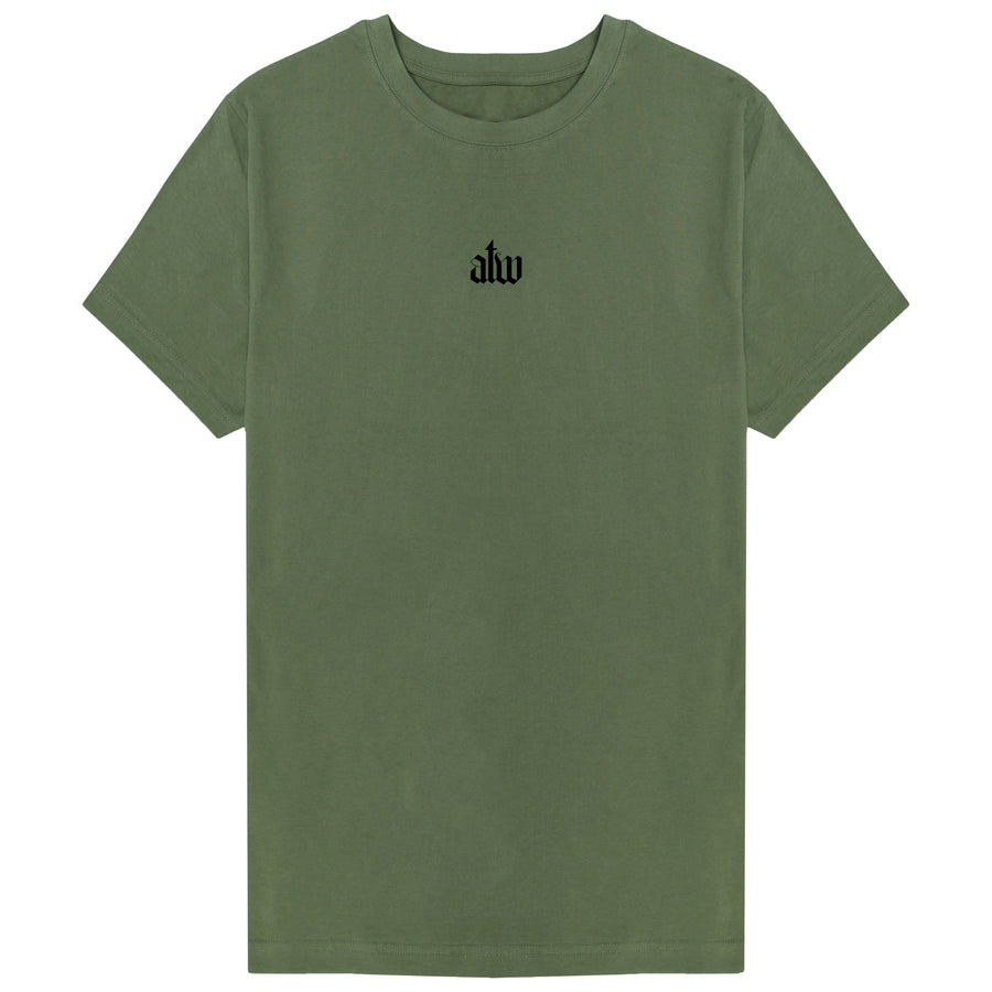 Old English T-shirt Khaki