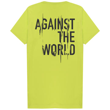 Paint Scrape T-Shirt Frozen Yellow