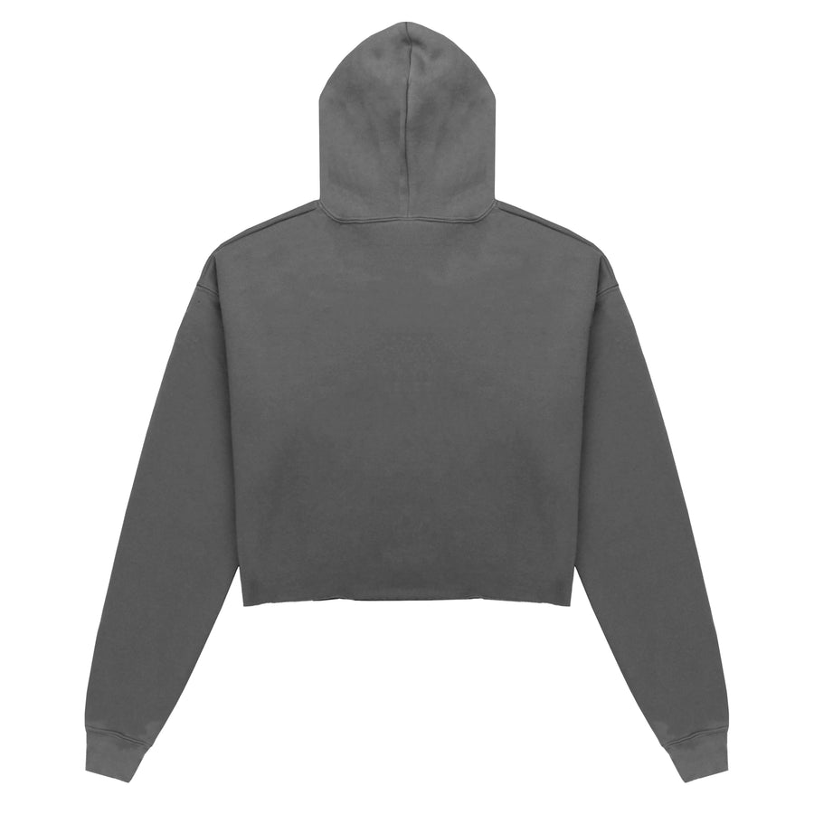 Cropped Hoodie Stone