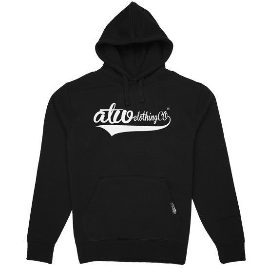 ClothingCo Hoodie Black/White