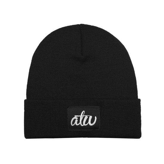 atw Label Beanie Black