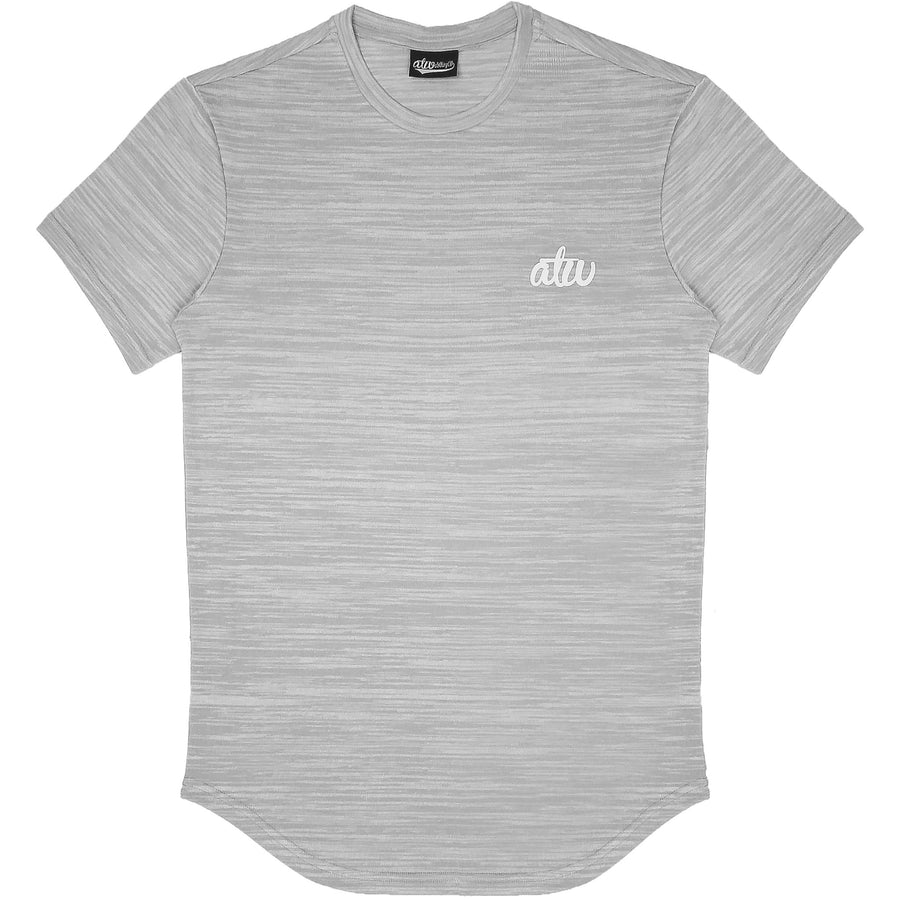 Knit T-shirt Grey