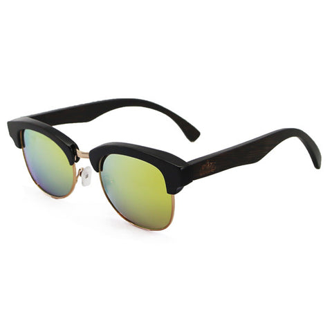 Millionaire Polarised Sunglasses Yellow