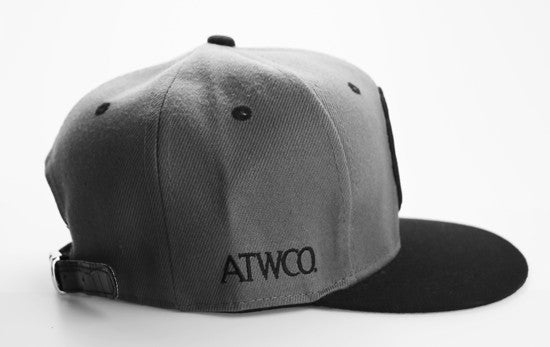 Premium Apparel Strapback Grey