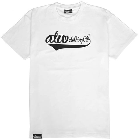 ClothingCo Logo T-shirt White/Black