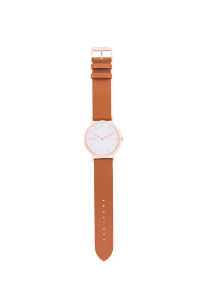 The Wanderlust (flat) | Tan / Rose Gold (seconds)