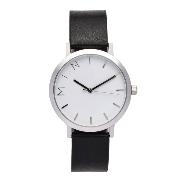 The Pioneer | Black / Silver (seconds)