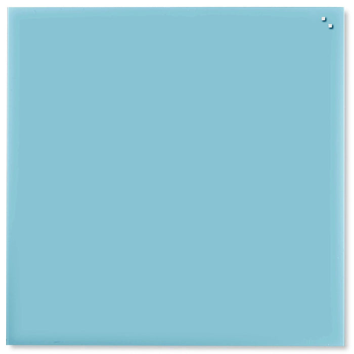 Turquoise Blue Magnetic Glassboard