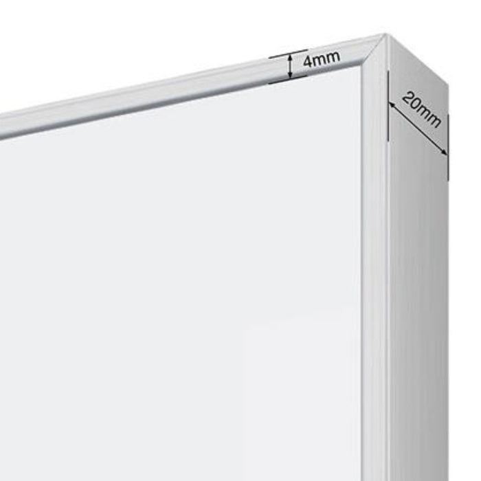 LX9000 Slim Frame Magnetic Glassboard