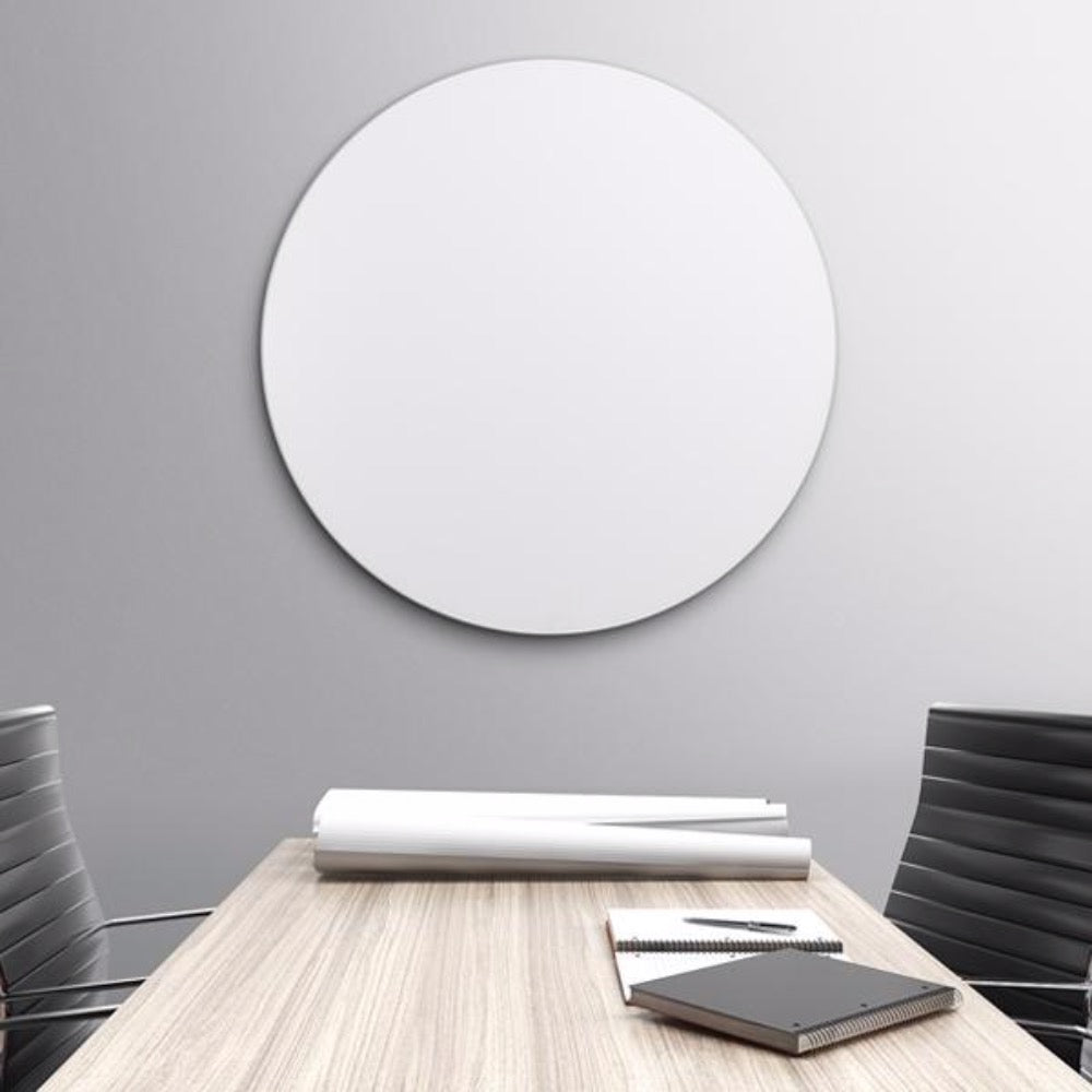 1m NAGA Round Magnetic Circle Glassboard