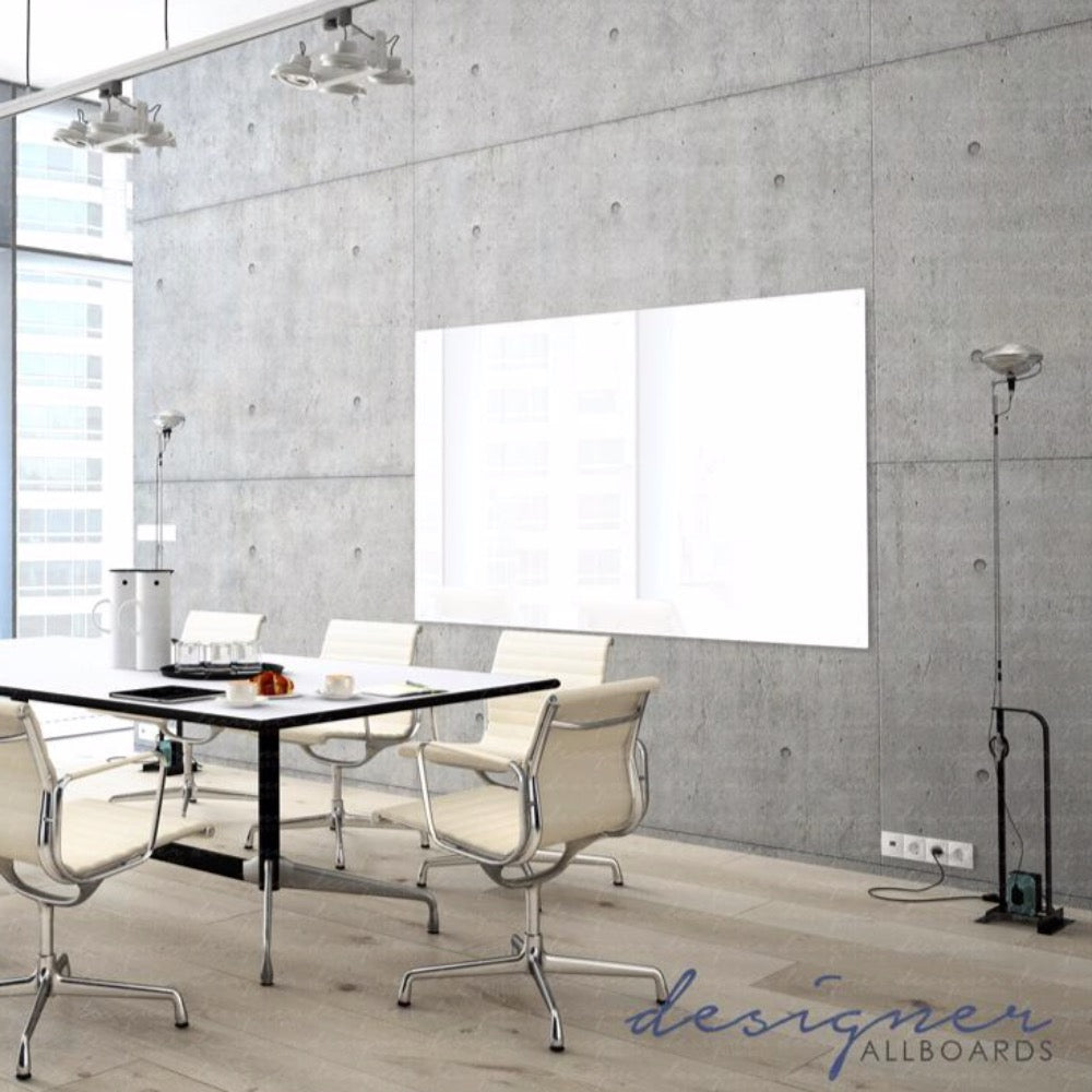 Magnetic White Glassboard