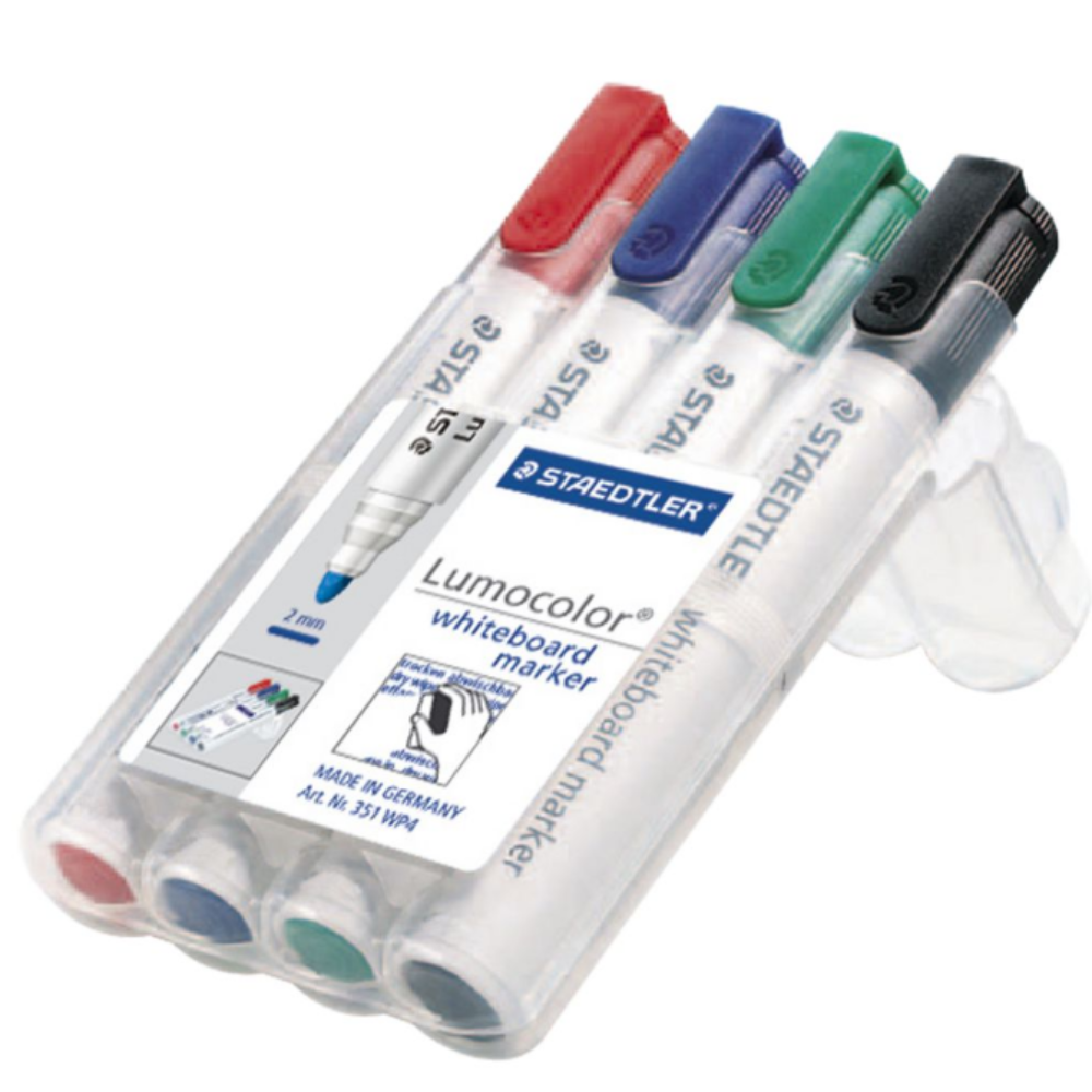 Coloured Markers - 4 pack