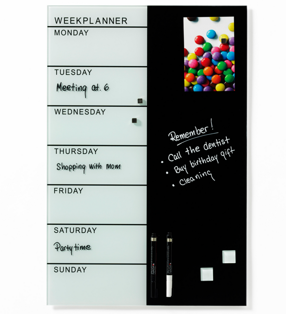 NAGA Week Planner with Notes
