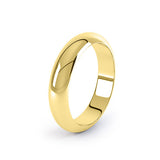 D Shape Wedding Ring