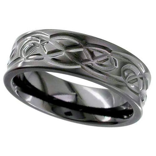 4062B - BLACK ZIRCONIUM RING