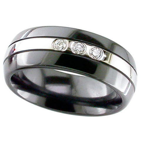 4005RB-WAVES - Natural Black Zircionium Como