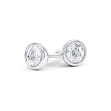 Iris - ERG243 - platinum Metal, 2 x Diamonds (undefined, undefined)