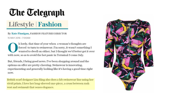 'Six of the Best' Stella Magazine feature Lisa King's Remy Swimsuit