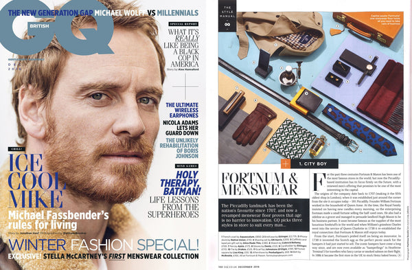 British GQ features Lisa King Pocket Squares