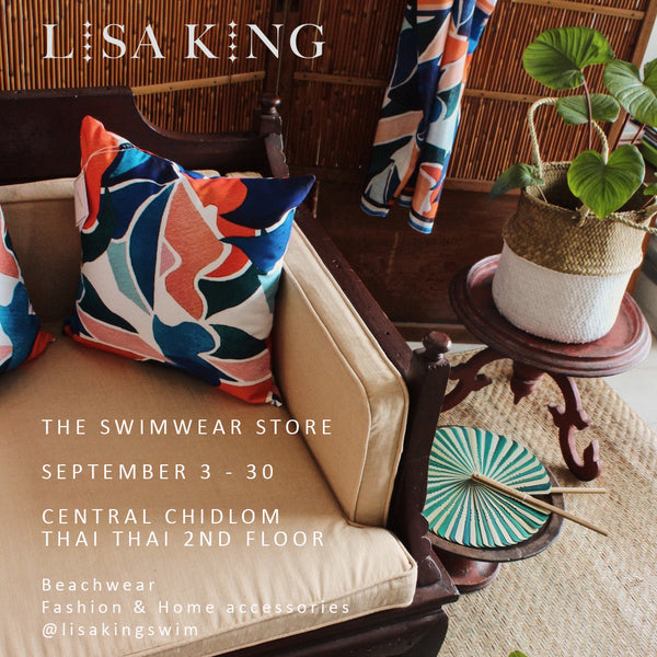 Lisa King opens the Swimwear Store pop up at Central Department Store Bangkok