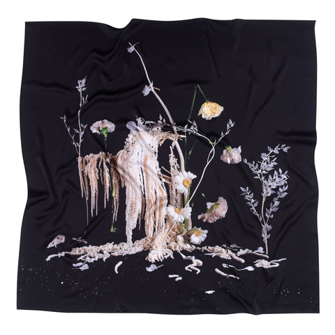 ORCHID EMBROIDERED COTTON TEE