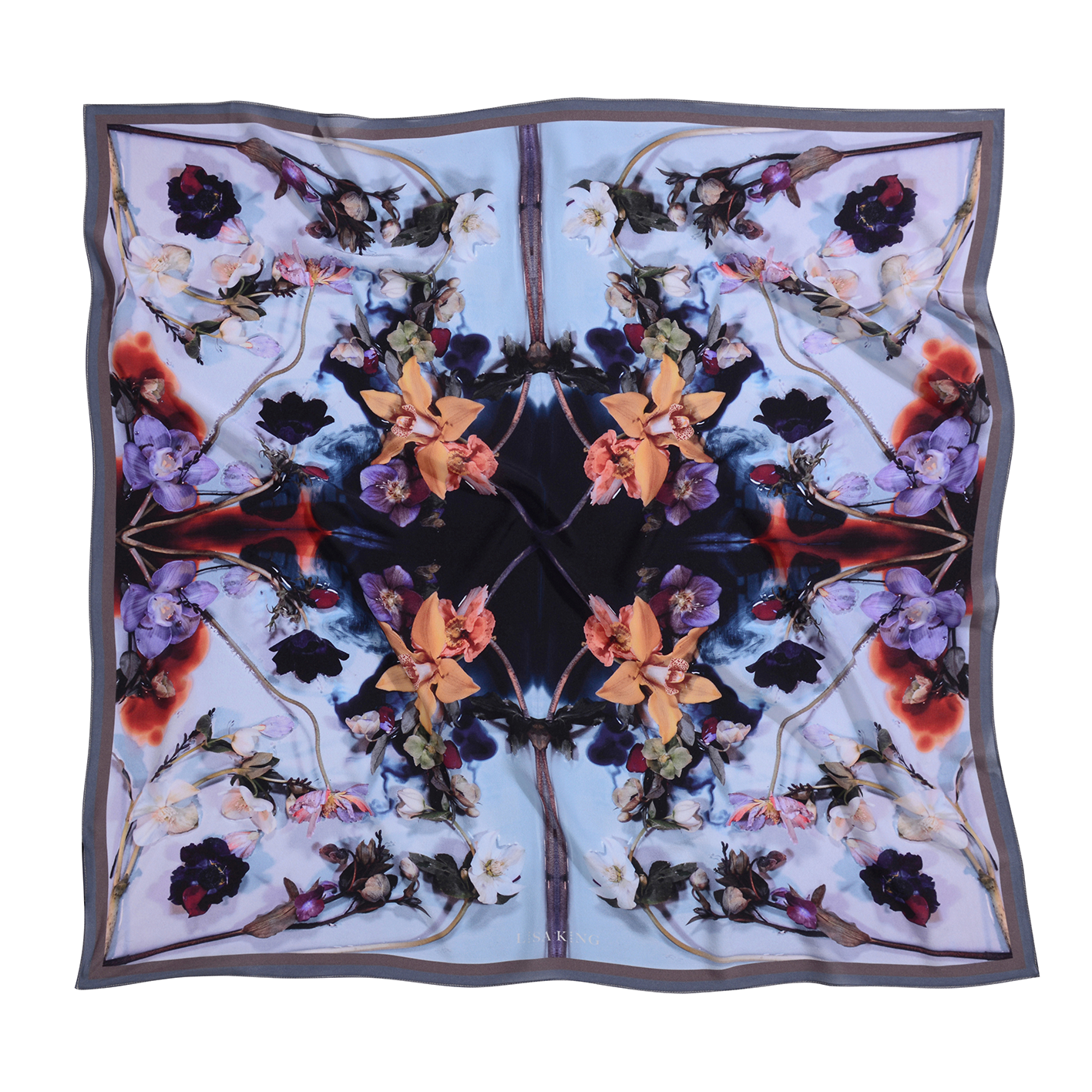 FLEETWOOD LIGHT SILK 90 X 90CM SCARF
