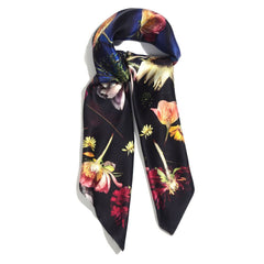 *MOTHERS DAY PRE ORDER* SUNFLOWER 90 x 90 CM SILK SCARF