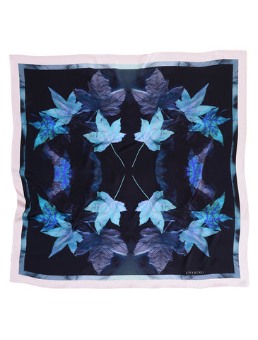 OMBRE SCREWPRINT SILK POCKET SQUARE