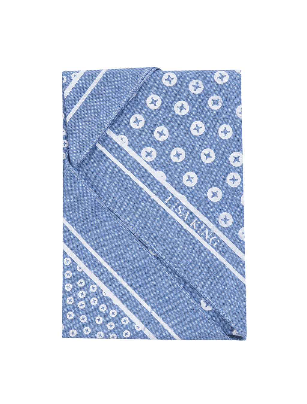 BLUE (LIGHT) COTTON BANDANA