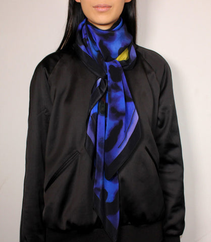 WHITE RIOT LIMITED EDITION 120CM SILK SCARF