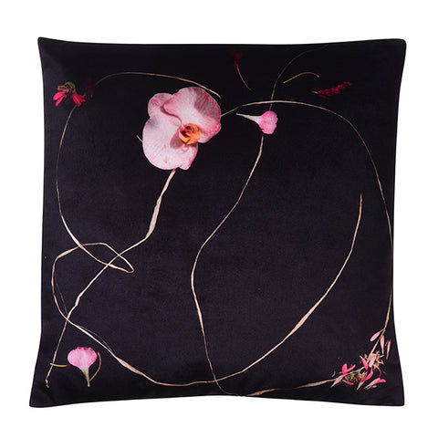 ORCHID VELVET CUSHION 45 X 45