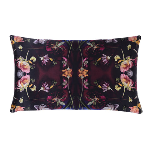 LONG TULIP VELVET CUSHION 45 X 45