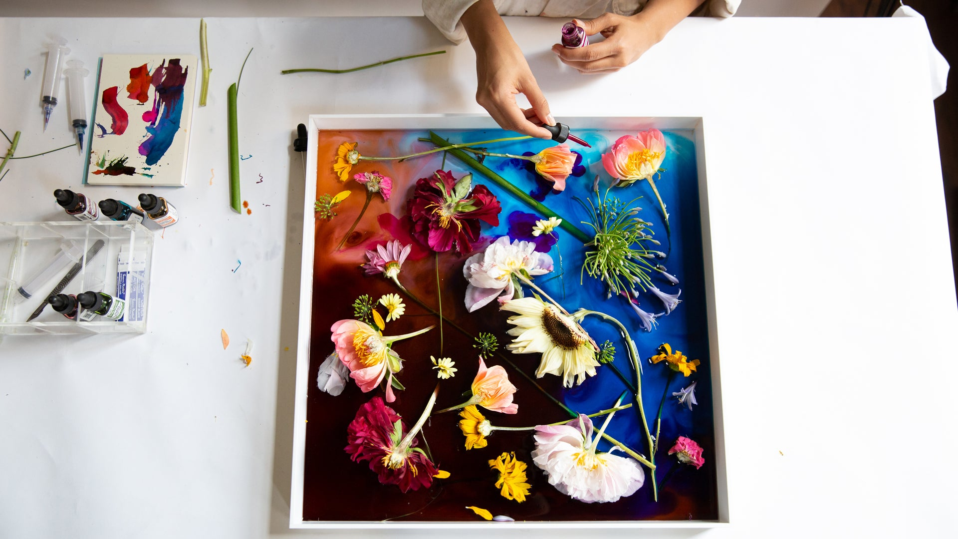 FLORAL PRINT WORKSHOP FEBRUARY 19