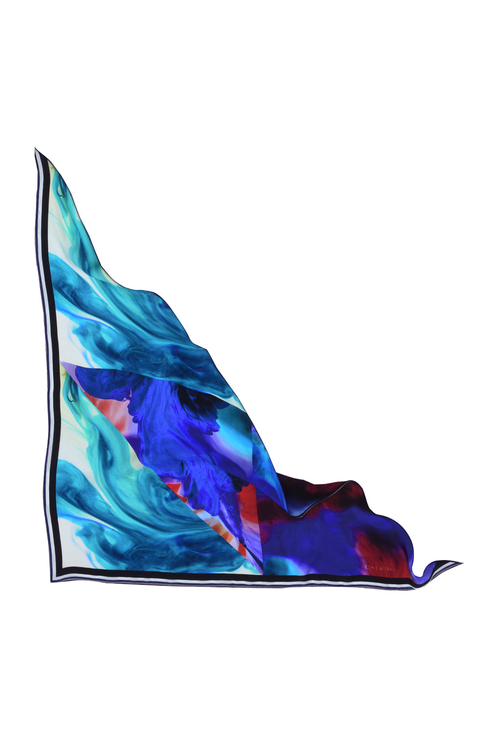 CAELI TRIANGLE SILK NECK SCARF