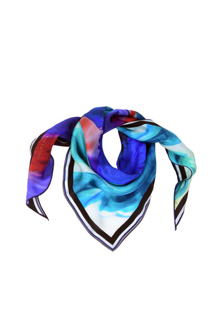 ANGEL OF LOV WHITE 140 X 140CM CASHMERE MODAL SCARF