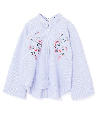 PAGEBOY embroidery shirt
