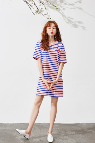 LAP stripe dress