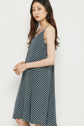 LAP floral print slip dress