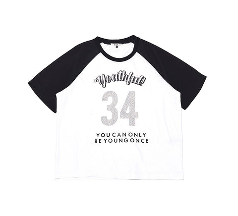 LAP lettering tee