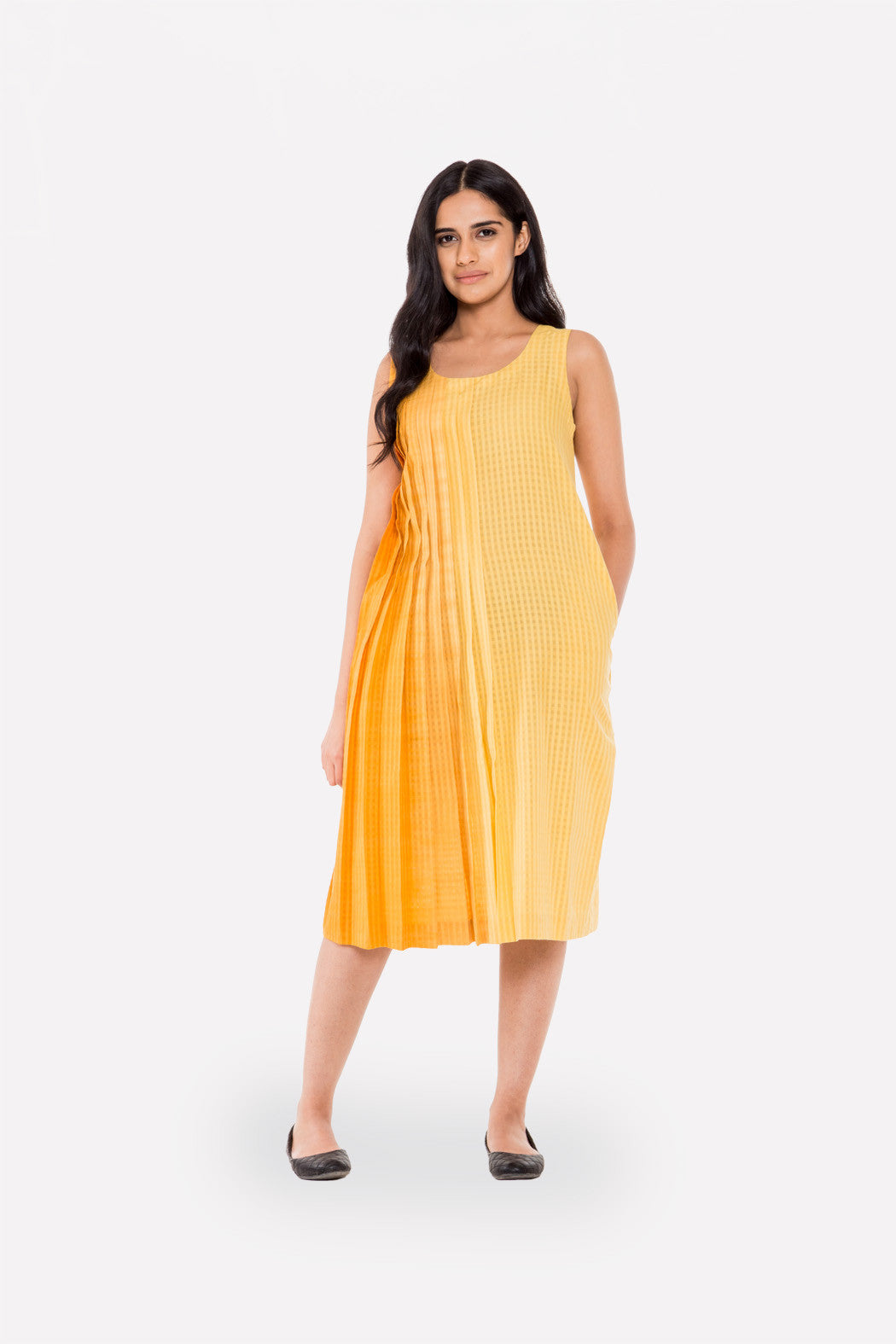Asymmetric Pleated Shift - Raag