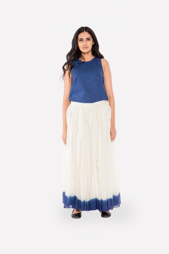 Dip-dyed Gathered Skirt - Raag