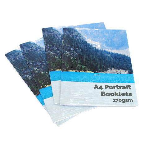 A4 Portrait Booklets
