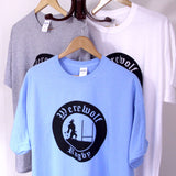 Single Colour Printed T-shirts